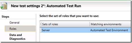 Automated Test Run - Roles